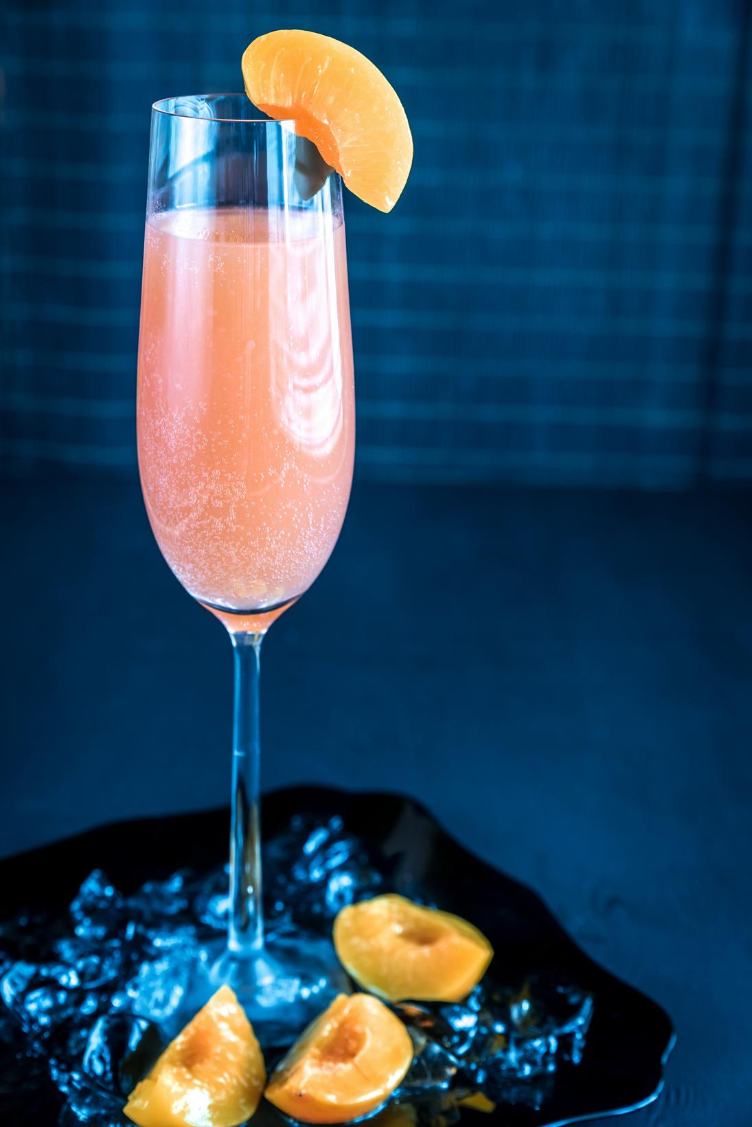 Peach Bellini Mix | FoodCourier.com