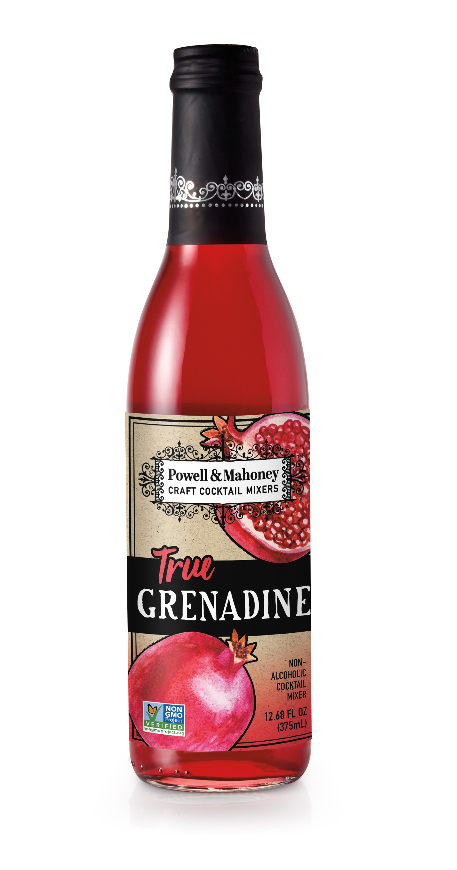 Powell & Mahoney True Grenadine - 375mL Bottle