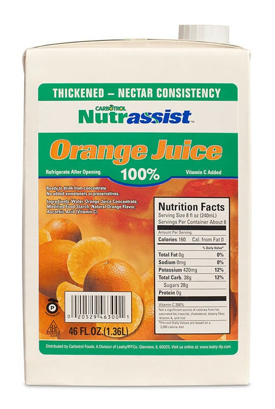 Nutrassist 46oz 100% Orange Juice Nectar