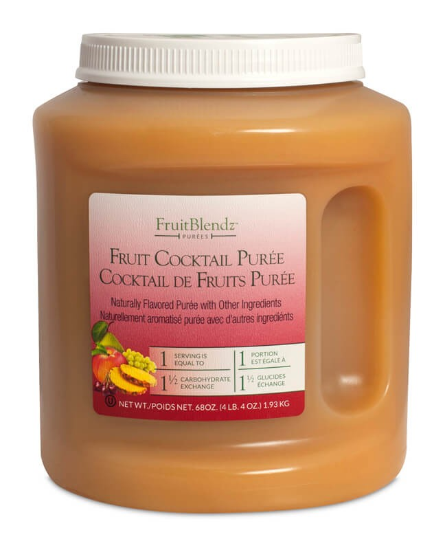 68 OZ. FruitBlendz Fruit Cocktail Fruit Puree