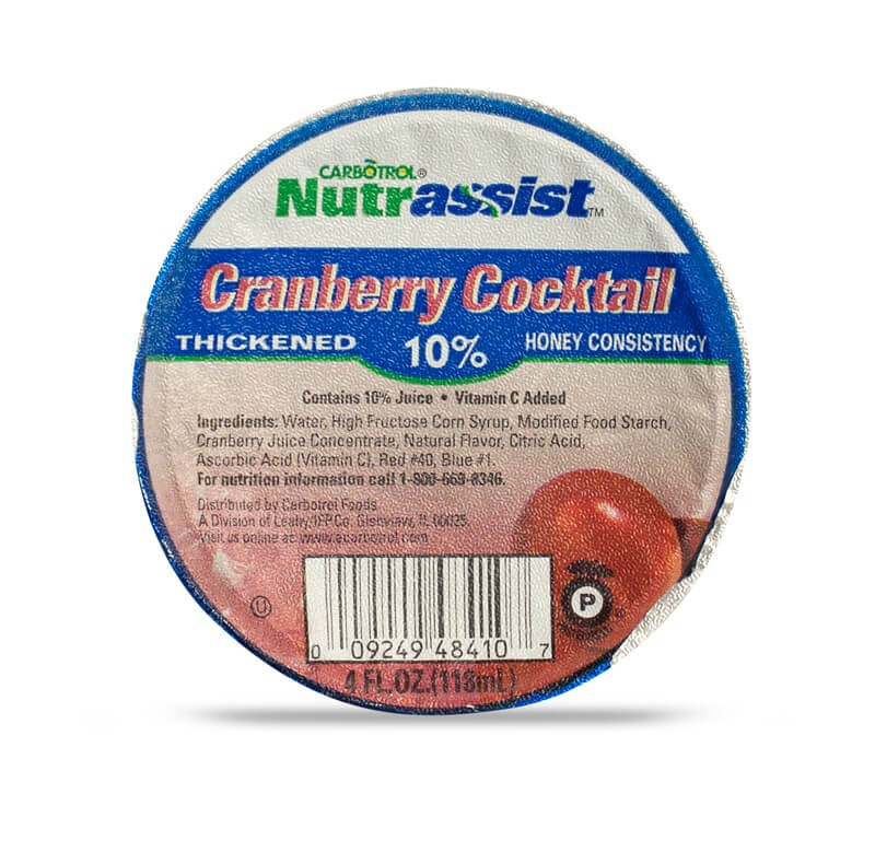 Nutrassist 4oz 10% Cranberry Cocktail Honey (Case of 48 Pcs.)