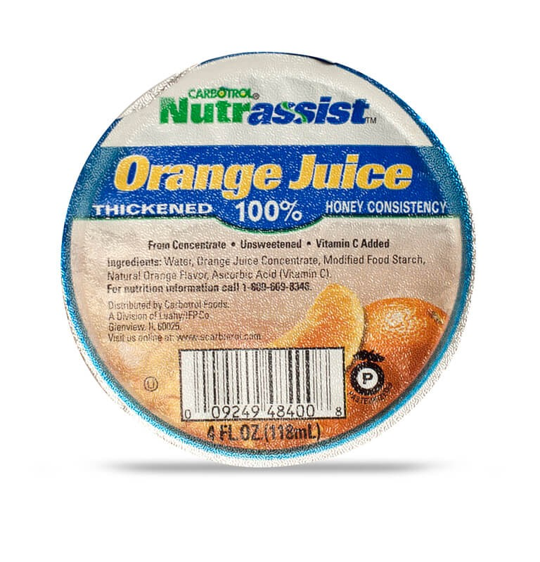 Nutrassist 4oz 100% Orange Juice Honey (Case of 48 Pcs.)