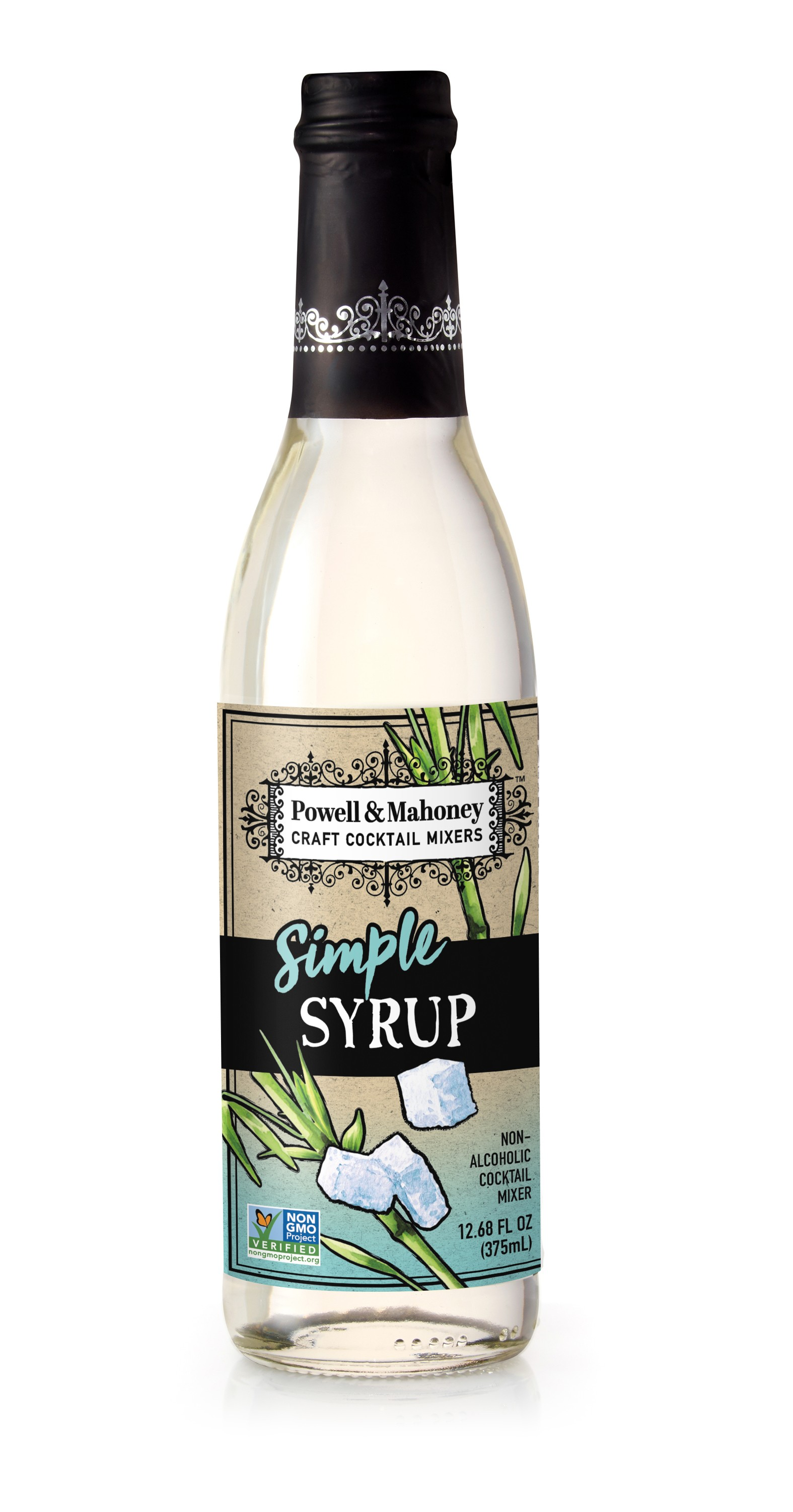 Powell & Mahoney Simple Syrup - 375mL Bottle