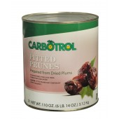 Carbotrol #10 Juice Packed Canned Fruit, Pitted Prunes (1 - 110oz Can) - Dup