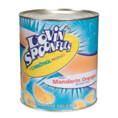 Lovin' Spoonfuls #10 Light Syrup Packed Canned Fruit, Mandarin Orange Segments (1 - 105oz Can)
