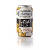 Powell & Mahoney Ginger Beer (12oz Can) - 4 pack case