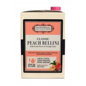 Powell & Mahoney Peach Bellini Mix, 46oz Carton